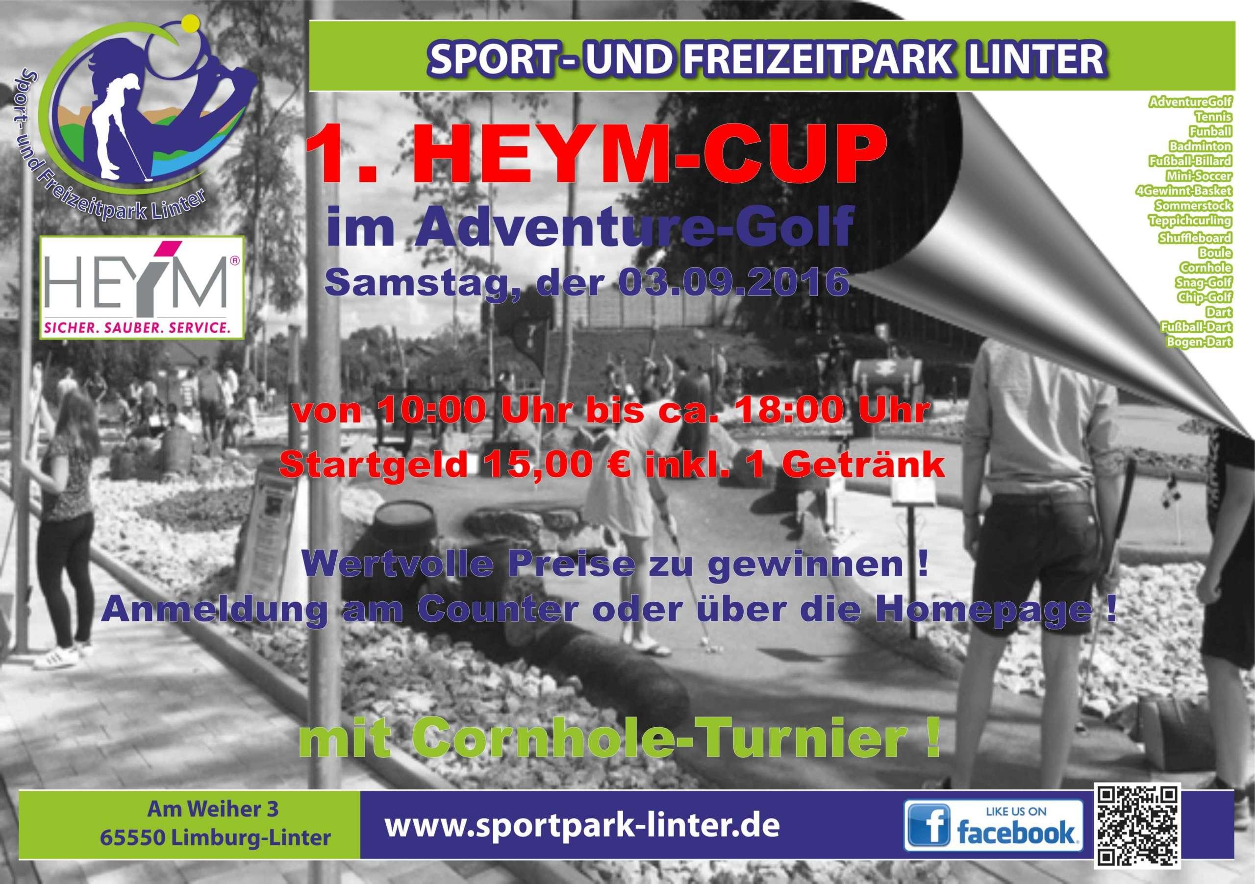 1. HEYM-CUP 2016